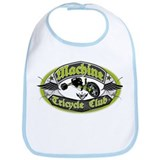 Machine Tricycle Club Bib