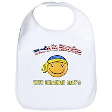 Made in America with Ukrainian parts Bib