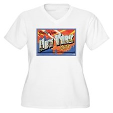 New York City Postcard T-Shirt