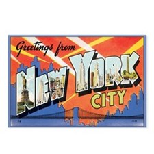 New York City Postcard Postcards (Package of 8)