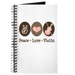 Peace Love Violin Journal