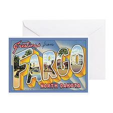 Fargo ND Poscard Greeting Card
