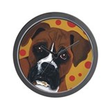 "Boxer Dog ""The Look!"" Wall Clock"