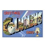 Columbus OH Postcard Postcards (Package of 8)
