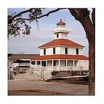 New Orleans Lighthouse-Tile Coaster