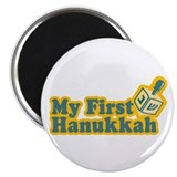 "My First Hanukkah 2.25"" Magnet (10 pack)"