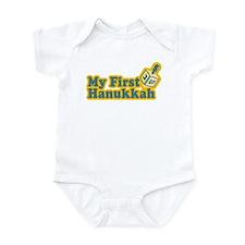 My First Hanukkah Infant Bodysuit