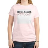Cute Army ranger girlfriend T-Shirt