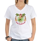 Christmas Hula Shirt