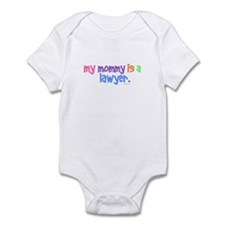 My Mommy Is A Lawyer (PASTEL) Infant Bodysuit