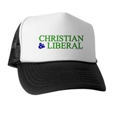 Christian and Liberal Trucker Hat