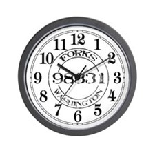 Forks, WA 98331 Wall Clock