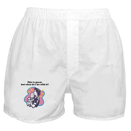 New Mom Boxer Shorts
