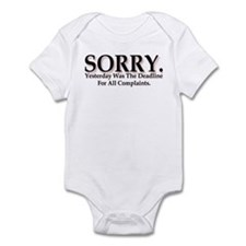 Complaints Infant Bodysuit