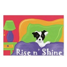 Rise and Shine Black Jack Postcards (Package of 8)