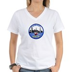Chicago PD Marine Unit Women's V-Neck T-Shirt