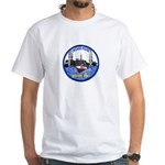 Chicago PD Marine Unit White T-Shirt