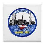 Chicago PD Marine Unit Tile Coaster