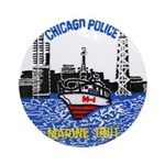 Chicago PD Marine Unit Ornament (Round)