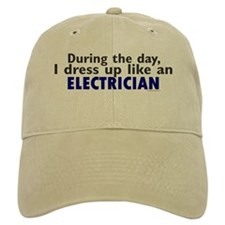 Dress Up Like An Electrician Baseball Cap