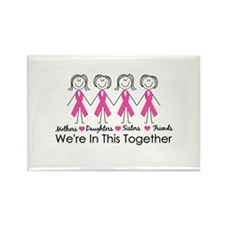 We're In This Together Rectangle Magnet (100 pack)