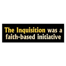 INQUISITION Bumper Bumper Stickers
