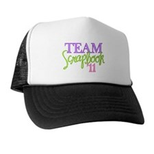 Team Scrapbook '11 Trucker Hat