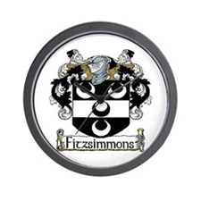 Fitzsimmons Arms Wall Clock
