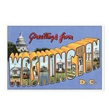 Washington D.C. Postcards (Package of 8)