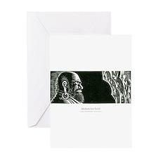 Bodhidharma Greeting Card