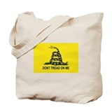 Don't Tread On Me Flags Tote Bag