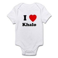 I Heart Khalo Onesie