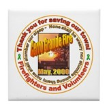Funny Volunteering Tile Coaster