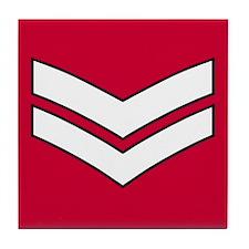 Lance Corporal<BR> Tile Coaster