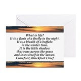 What is Life Greeting Cards (Pk of 10)