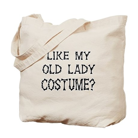 Old Lady Costume Tote Bag