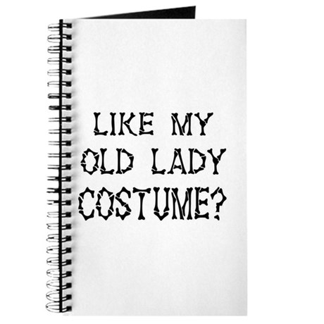 Old Lady Costume Journal