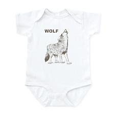 Vintage Wolf Infant Bodysuit