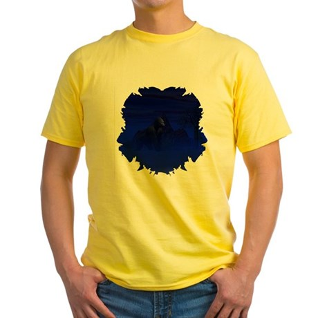 Night Gorilla Yellow T-Shirt