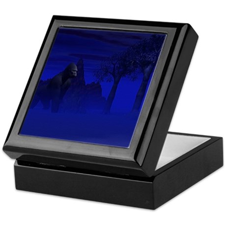 Night Gorilla Keepsake Box