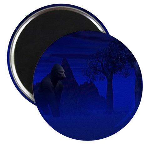 "Night Gorilla 2.25"" Magnet (10 pack)"