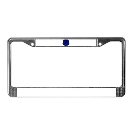 Night Gorilla License Plate Frame