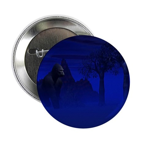 "Night Gorilla 2.25"" Button (100 pack)"