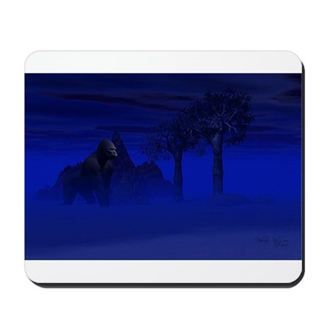 Night Gorilla Mousepad