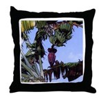 Banana Sky Throw Pillow