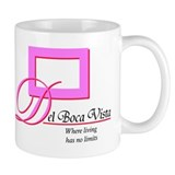 "Seinfeld Del Boca Vista ""Where living..."" Mug"