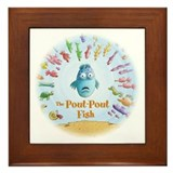 Pout-Pout Fish Framed Tile
