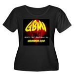 GBMI Band Women's Plus Size Scoop Neck Dark T-Shir