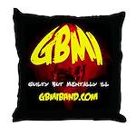 GBMI Band Throw Pillow #2