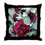 Rich red flower 2 -Throw Pillow